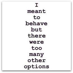 options options options ;-)