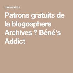 Patrons gratuits de la blogosphere Archives ⋆ Béné's Addict