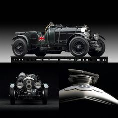 Bentley - one of the most iconic race cars since the combustion engine was invented.