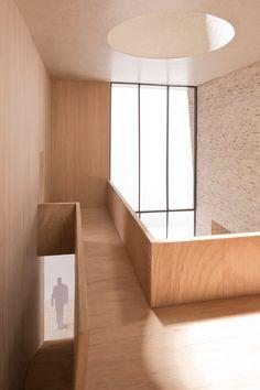 Highgate House Carmody Groarke model internal