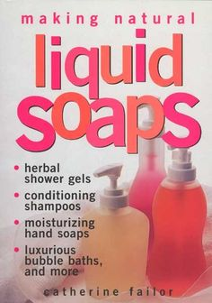 home made liquid dish or hand soap