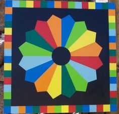 Wyoming Barn Quilts - for sale - nice site, good geometric designs.