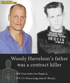 33 Facts About Famous People You Won't Believe Are True Article | Woody Harrelson