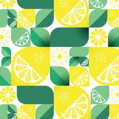 Ideas fruit pattern illustration lemon print for 2019 Design Textile, Textile Patterns, Print Patterns, Pattern Print, Fruit Illustration, Pattern Illustration, Lemon Art, Food Patterns, Fruit Pattern