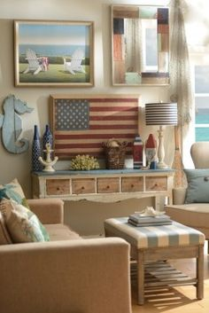 Who doesn't love nautical decor? We've got tips to make your home look like you're living the coastal life. Anchors aweigh! #MyKirklands #Kirklands http://bit.ly/1iAAXud