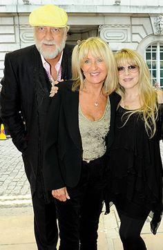 Mick Fleetwood Christine McVie Stevie Nicks Fleetwood Mac back together again.