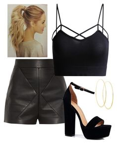 """""""Untitled #579"""" by juliatini-je on Polyvore featuring Balenciaga, Lana and Boohoo"""