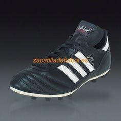 Comprar Zapatos de Futbol Adidas Copa Mundial Para Terreno Firme Negro  Blanco Tiendas De Zapatillas 49c89f3f785f7