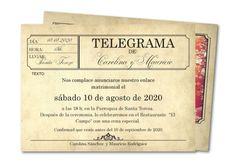 Invitaciones de boda originales (o muy originales) - Invitaciones de boda de todo tipo: novedosas, diferentes, con personalidad y hasta muy divertidas, pero todas tremendamente originales.  http://www.invitacionesde.com/invitaciones-de-boda/invitaciones-de-boda-originales/