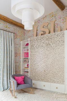 Girls Bedroom - Elitis Kandy wallpaper