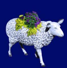 Sheep- Woolly Sheep Planter