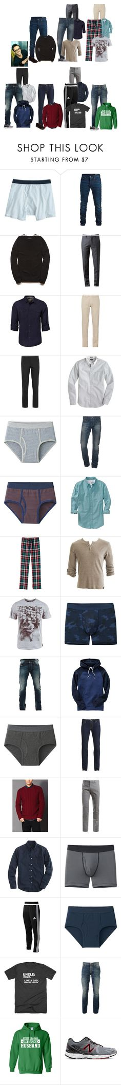 """""""Joe This Week"""" by thesummitfam ❤ liked on Polyvore featuring J.Crew, SELECTED, 21 Men, Browns, Brioni, Gucci, Uniqlo, AG Adriano Goldschmied, Old Navy and Crafted"""