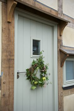 Border Oak - Door Painted Farrow & Ball French Gray