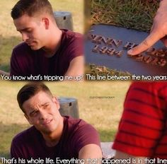 probably the saddest part of this episode. i miss you cory
