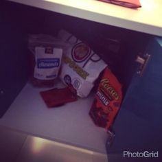 A secret contraband cabinet is a must.#NationalILoveFoodDay #WorkplaceWednesday | Decode Digital Marketing