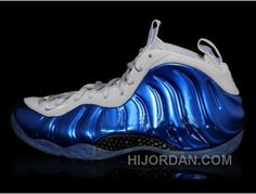 Hot Sale Online Nike Air Foamposite Pro Black Blue 624041 402