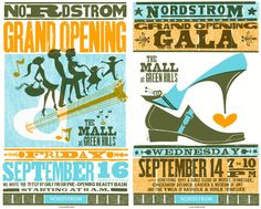 Nordstrom and Hatch Show Print