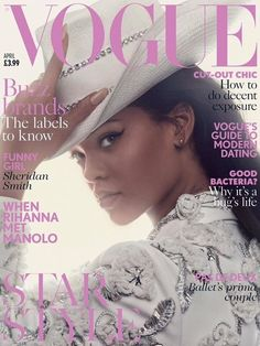 """""""The day I see a woman in the street wearing my shoes... I am sorry for that woman because I'm going to literally run after her, shouting, 'Stop! Selfie! Who are you? Where did you get them?' I'm going to have a moment!"""" -- Rihanna talks to British Vogue on her shoe collaboration with Manolo Blahnik."""