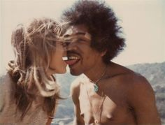 Musical genius Jimmy Hendrix in a rare and beautiful happy moment in his life. No musician in history probably effected so many musicians after him than Jimmy Hendrix.