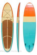 10'6 Epoxy SUP Stand Up Paddleboard Bamboo Veneer eva deck pad Paddle board