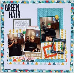 Crate Paper Cool kid is perfect for scrapping pictures of tween and teenage boys. @crate_paper