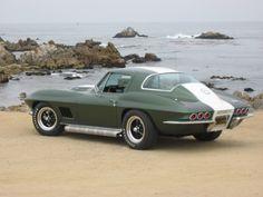 """1967 """"factory shop order"""" Corvette"""