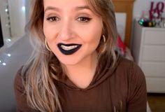 Com corretivo   sombra preta   um balm labial você consegue este batom: | 15 misturinhas para você se inspirar com suas maquiagens