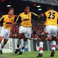 Davor suker, Thierry Henry and nwankwo Kanu at arsenal during the 1999/00 season. #arsenal #arsenalfc #afc #highbury #football #footballplayer #retro #retrofootball #vintage #vintagefootball #90s #90sfootball #soccer #soccerplayer #europeanfootball #premierleague #premierleague #gunners