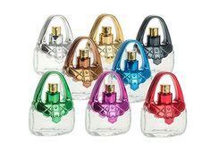 Regalos para los invitados. Colonia en atomizador cristal bolso Colores y aromas surtidos.  Capacidad: 15 ml