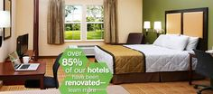 Extended Stay America: Save up to 30% off at any Extended Stay America hotel. Use promo code MH630. Book now through 09/13/16.