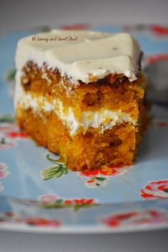 Perfectly moist and tender Carrot Cake with a creamy, not-extremely-sweet Cream Cheese Frosting. The best carrot cake I had ever.     I had made this carrot cake few days back and was hol…