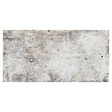 Love the raw look of this! New York Soho Brick Look Porcelain Tile