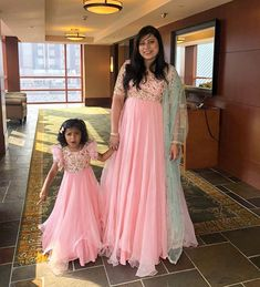 Client Sanjana Reddy with her four year old Tara Reddy in matching outfits from our collection, Brook💦 . Mom Daughter Matching Outfits, Mommy Daughter Dresses, Mom And Baby Dresses, Mother Daughter Fashion, Baby Girl Dress Patterns, Mom Dress, Dresses Kids Girl, Girl Outfits, Mother Daughters