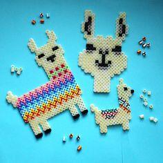 HAMA Bügelperlen * Iron Beads * Lama * Spielwaren-Kroell