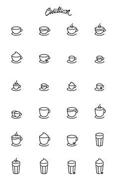 High-Quality Coffee Shop Icon Set, #AI, #Coffee, #EPS, #Free, #Graphic #Design, #Icon, #Outline, #PNG, #Resource, #SVG, #Vector