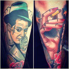 Tattoo by Adrian Edek