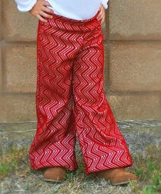 Love this Red  Palazzo Pants - Toddler & Girls by Mayah Kay Fashion Boutique on #zulily! #zulilyfinds