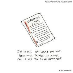 Or for the brilliant writer: | This Artist Made Adorable Illustrations For Some Of The Best Pickup Lines