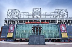 Old Trafford Manchester United Stadium, Manchester Uk, Man Utd Fc, Official Manchester United Website, Sports Stadium, Football Stadiums, Old Trafford, Man United, Urban Photography