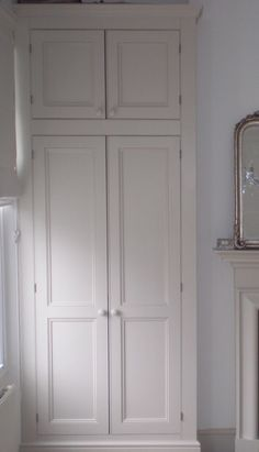 Built-in wardrobe  I would love, love, love these in my bedroom, on either side of chimney breast...there would be no more excuses for being untidy!