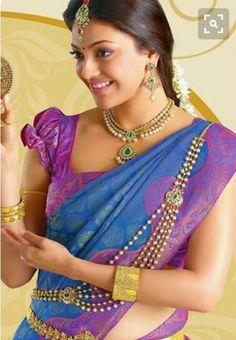 10 best saree blouse sleeve designs 10 best saree blouse sleeve designs blouse designs for silk sarees top 21 blouse designs for silk sarees top 21 pop sleeves saree blouses … Beautiful Saree, Beautiful Indian Actress, Beautiful Women, Indian Dresses, Indian Outfits, South Indian Blouse Designs, Indian Jewellery Design, Jewellery Designs, Saree Trends