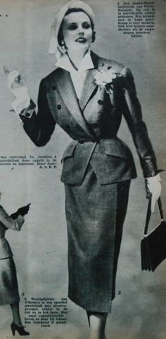 suit, Margriet 1950