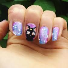 Image result for sailor moon nails Sailor Moon Nails, Image, Beauty, Moon Nails, Be Simple