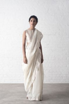 Ara Tissue Palla Chanderi Saree