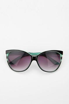 These are perfect for my Summer trip!  Watch out passengers!  Striped Cat Eye Sunglasses $14