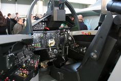 Mikoyan Mig 35D cockpit mock up.