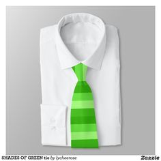 SHADES OF GREEN tie