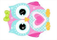 imagenes de buhos animados tiernos - Buscar con Google