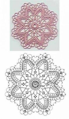 Captivating All About Crochet Ideas. Awe Inspiring All About Crochet Ideas. Crochet Snowflake Pattern, Crochet Motif Patterns, Crochet Stars, Crochet Snowflakes, Crochet Diagram, Thread Crochet, Crochet Doilies, Crochet Flowers, Crochet Lace