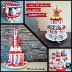 Kinderriegel Torte selber machen in nur 30 Minuten